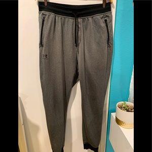 Under armor gray sweat pants